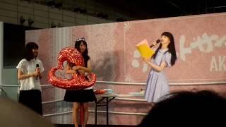 ステージ【C】#18 荻野由佳・北原里英・西潟茉莉奈 2017年6月24日17時30...