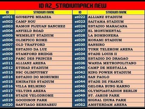 Tutorial Pasang Stadiom pack aio by az mod pes 2017