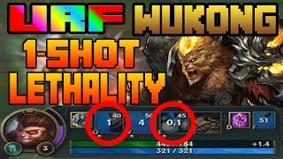 URF 2017 is BACK | WUKONG 1-SHOT LETHALITY BUILD | League of Legends | Patch 7.4 | Patch 7.5
