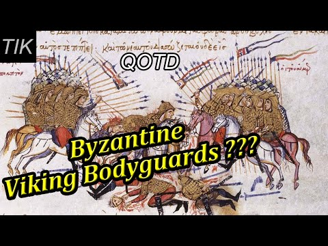 Byzantine Viking Bodyguards??? QUESTION OF THE DAY #44 History Quiz