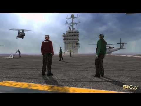 EDS Technologies : DI Guy   Human Simulation Software   FDC CH46 Landing