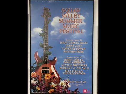 Booker T & The MG's @ Squaw Valley Summer Music Fest 8-25-91