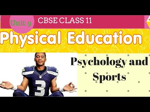 Psychology and sports Physical Education class 11