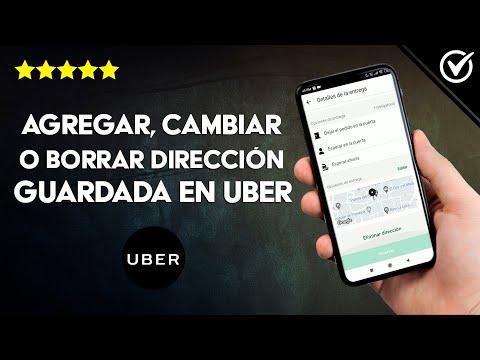 Cómo Agregar, Cambiar o Borrar una Dirección Guardada en Uber Eats - ¡Me Equivoque!