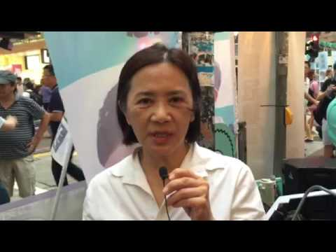 Actress Deanie Ip on her support for HK LegCo candidate Nathan Law