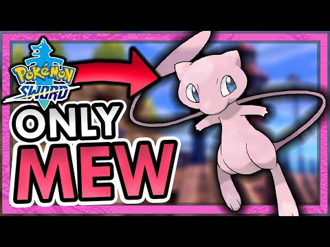 Can I BEAT Pokemon Sword with ONLY Mew?