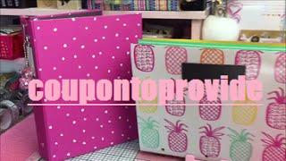 Planner Binder Setup Tutorial DIY Target Dollar Spot Pineapple Print Accordion Folder