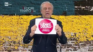 Maurizio Crozza/Piero Grasso e il simbolo di