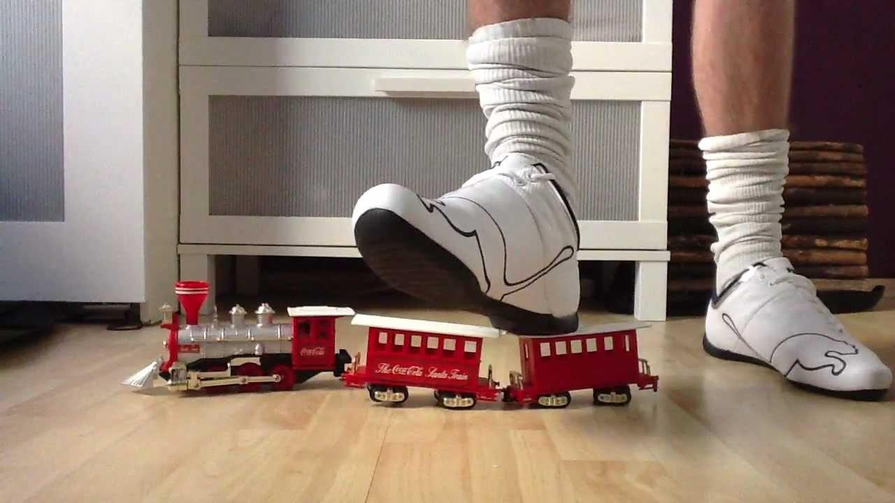 9d0cf42558ebe0 My NEW!!! PUMA Future Cat M1 Big white blue VS. Train - YouTube