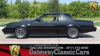 1986 Buick Regal Grand National #755-DFW Gateway Classic Cars of Dallas
