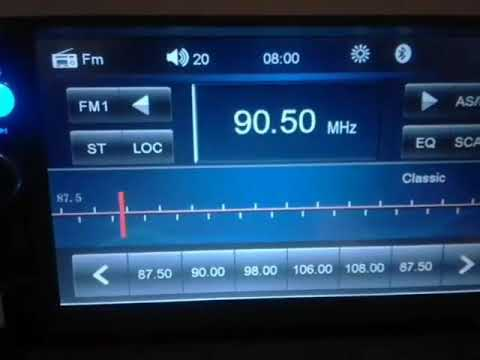 fm dx slager radio with local ads ruse bulgaria