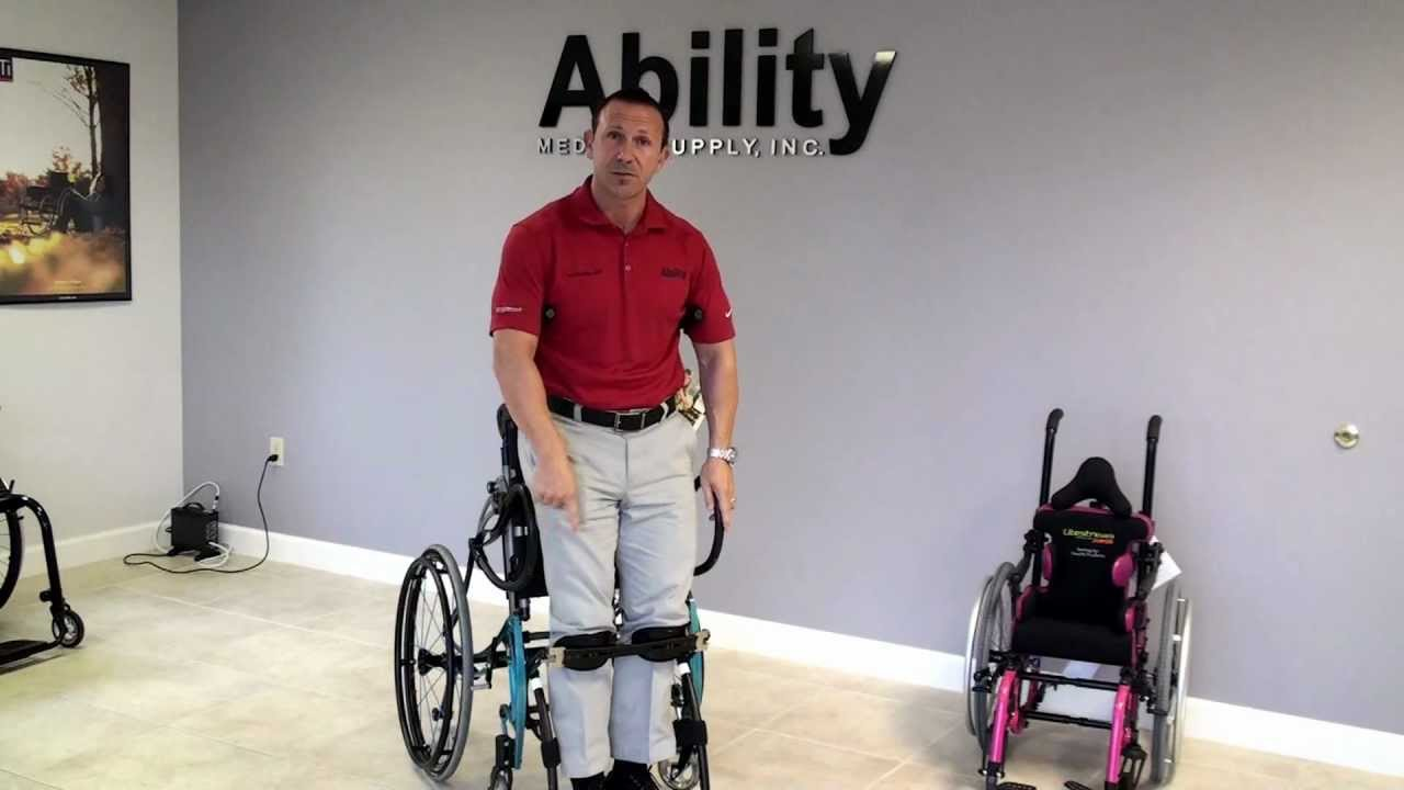 jed golding reviews lifestand helium ultralight standing frame manual wheelchair youtube