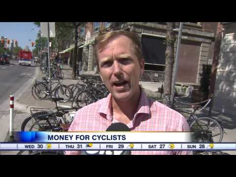 Video: Toronto bike lane projects get huge financial boost from city, Ottawa