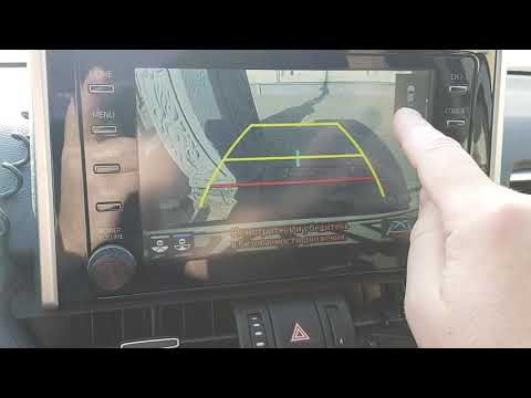 Как работает парктроник и камера заднего вида на новом RAV4