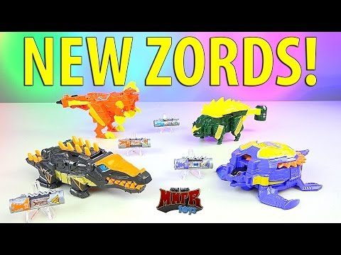 NEW Power Rangers Dino Supercharge Zords!