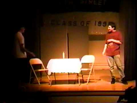 1995 Fifth Street Middle School 8th Grade Talent Show, Bangor, Maine