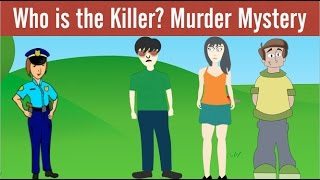 3 Riddles on Murder Mystery and Logic