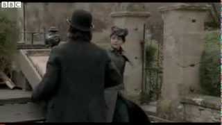 """Samantha Barks and Hans Matheson in new scene from """"The Christmas Candle"""""""