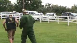 K9 Training- Basic Bite Work With Bite Suit