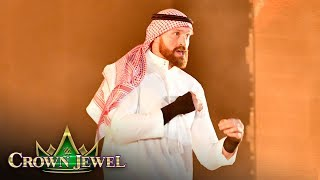 Tyson Fury makes grand entrance on the big stage: WWE Crown Jewel 2019 (WWE Network Exclusive)