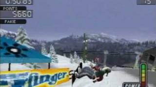 Cool Boarders 3 - Single Event - Powder Hill