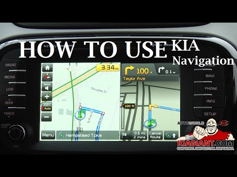Learn How to Use Your Kia Touch Screen Navigation by Auto World Kia | East  Meadow New York