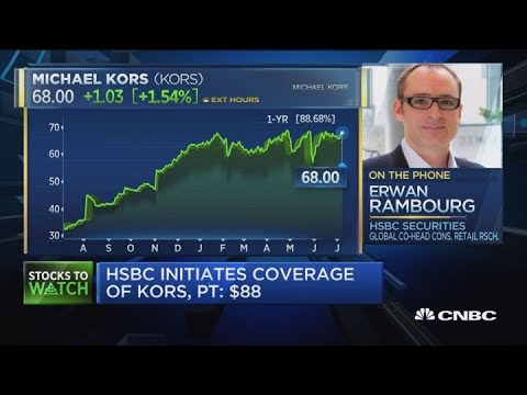 HSBC initiates coverage of KORS, puts $88 price target on shares