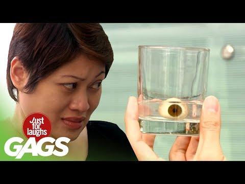 Granny Loses Eyeball Prank - JFL Gags Asia Edition