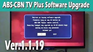 ABS-CBN TV Plus Software Upgrade Ver.1.1.19 Mahiwagang Black Box