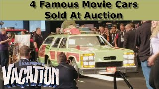 4 Famous Movie Cars Sold at Barrett Jackson Auction Palm Beach, Family Truckster