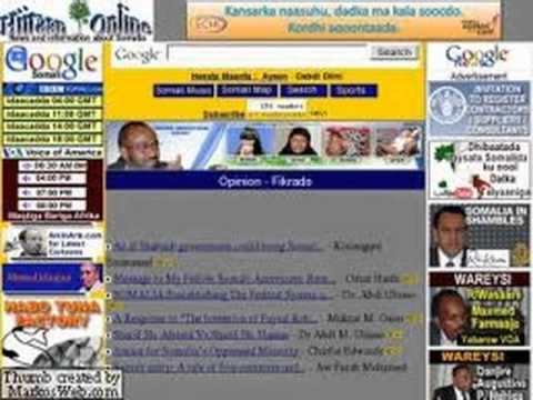 Hiiraan Online visits somali