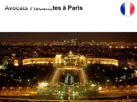 Avocats fiscalistes à Paris