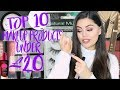 TOP 10 MAKEUP PRODUCTS UNDER £20!!!