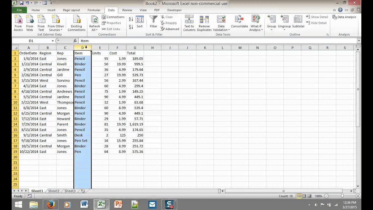how to create drop down list in excel 2010 youtube
