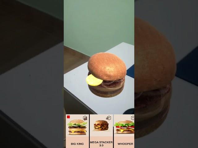 Burger King AR - Demo