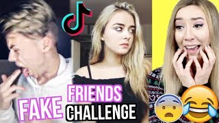 witzige FAKE FRIENDS CHALLENGE TikTok Musical.ly...