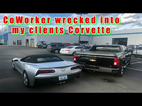 1st 2019 Corvette delivered in the USA after my co worker wrecked their 2017
