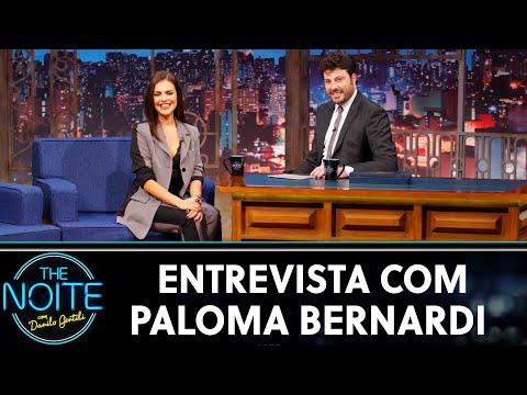 Entrevista com Paloma Bernardi The Noite 250619