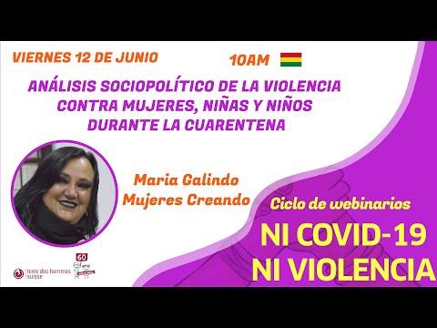 María Galindo, análisis sociopolítico de la violencia contra mujeres, niñas y niños en la cuarentena