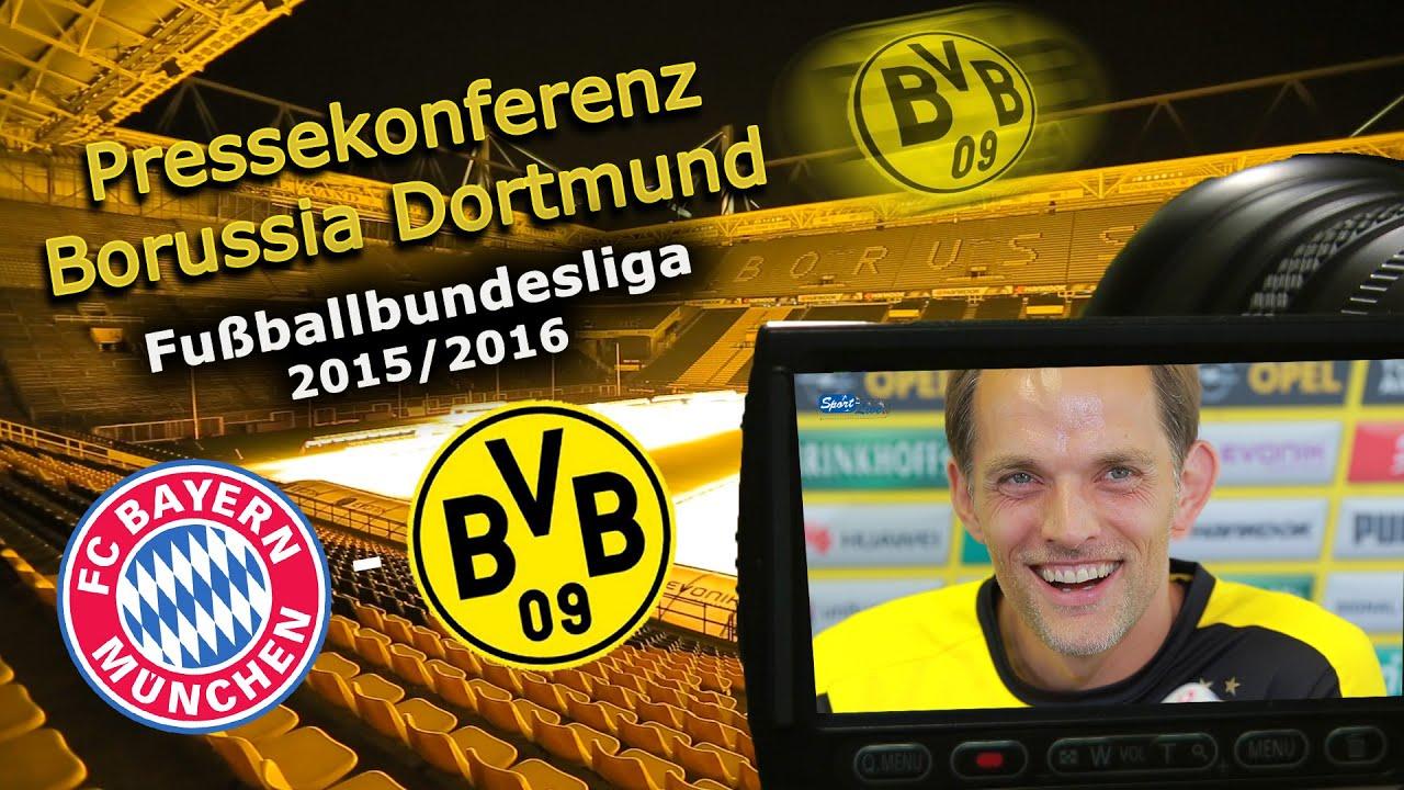 BVB-Pressekonferenz zum Ligaspitzenspiel gegen den FC Bayern München