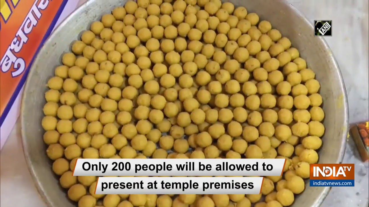 `Bhoomi Pujan`: 2100 `laddoo` to be distributed at Moradabad`s Gulab Das Temple