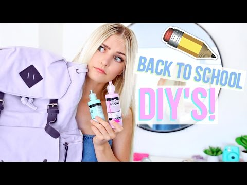 Back to School Pinterest DIY