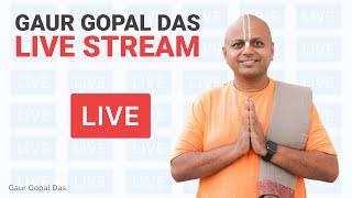 Gaur Gopal Das Live Stream