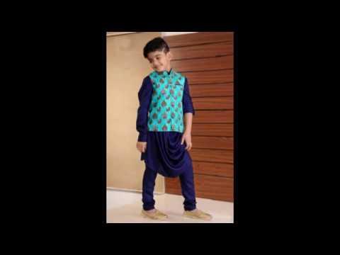 cdccf1a3b Latest Boy Indian Ethnic Wear/Little Baby Wedding Outfits/Kurta Pajama Set  for Boys