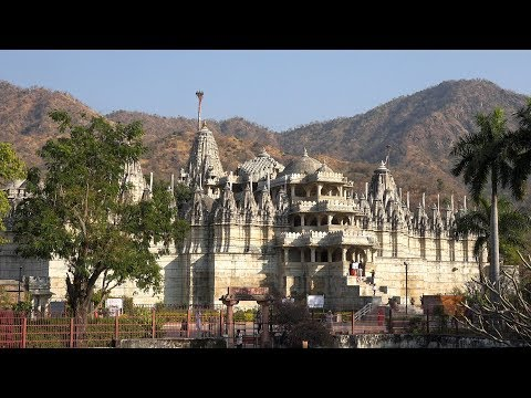 Kumbhalgarh Fort and Ranakpur Jain Temple, Rajasthan, India in 4K Ultra HD