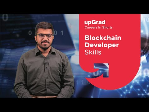 Skills Needed to Become a Blockchain Developer | upGrad Careers in-shorts