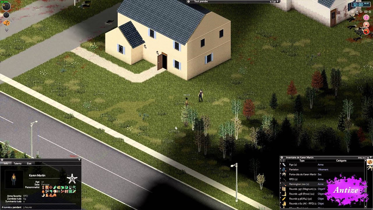 Project Zomboid   Antize Weapon Mod 20.20 Test weapons