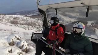 Абзаково, это зима, солнце и лыжи!
