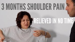 3 Months of Shoulder Pain Relieved Before Your Eyes (REAL RESULTS!!!)