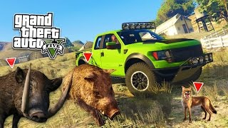 GTA 5 PC Mods - WILDLIFE ANIMAL RESCUE MOD! GTA 5 Animal Rescue Mod Gameplay! (GTA 5 Mods Gameplay)